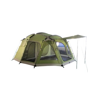 2017 Good Quality 3*3 Outdoor Tent - Cheapest Factory Sale Custom Logo Waterproof Backpacking Camping Tent – Green Camping