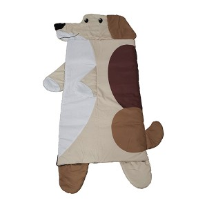 dog shape kids sleeping bag