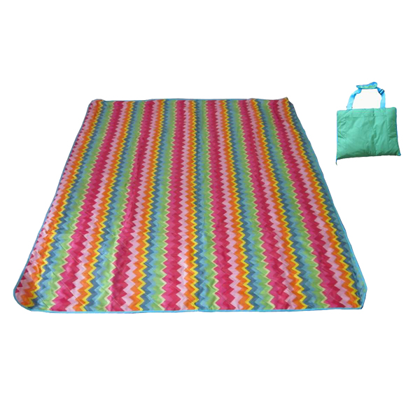 PriceList for Waterproof Outdoor Blankets - 2019 Latest Design Hot Outdoor Waterproof Beach Mat Acrylic Picnic Blanket – Green Camping