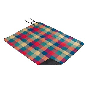Factory supplied Camping hiking Picnic Mat - Picnic blanket with handle sewed in – Green Camping