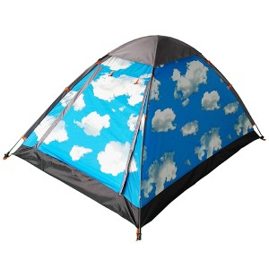 pop up dome tent 2 person printed