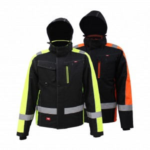GL8365 Classical Workwear Practical Winter Jacket for Men with Strong Fabric