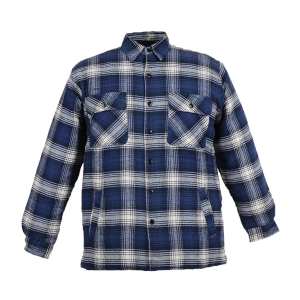 GL5186 Yarn dyed cotton flannel shirt for men