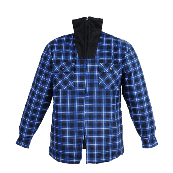 GL5187 Printed cotton flannel shirt for men