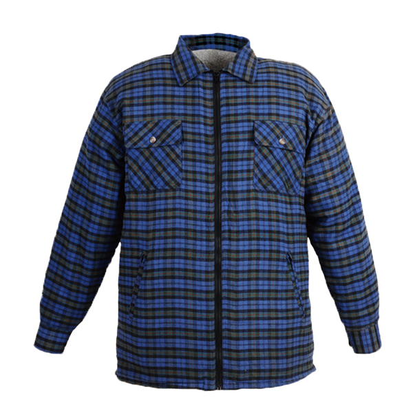 GL5190 Yarn dyed cotton flannel shirt for men