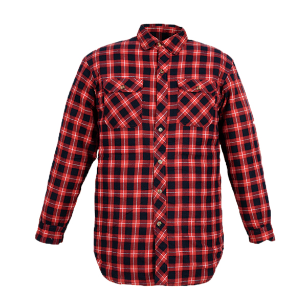 GL5191 Printed cotton flannel shirt for men