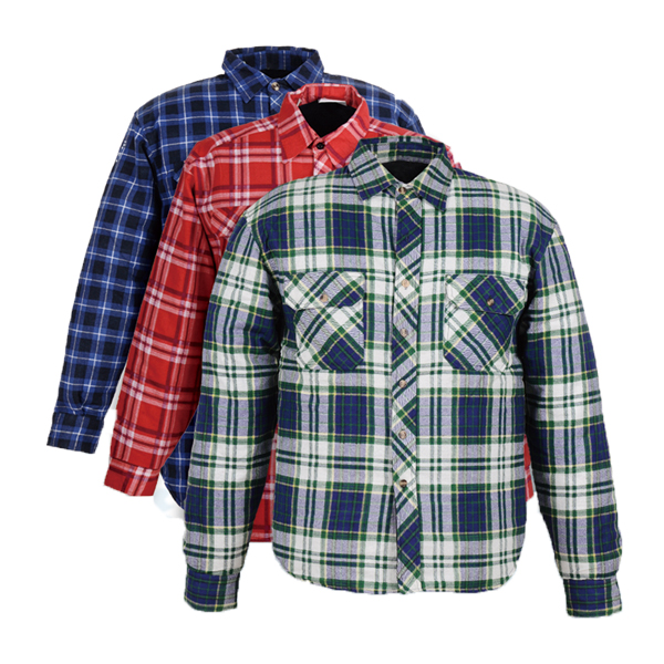 GL5197 Printed cotton flannel shirt for men