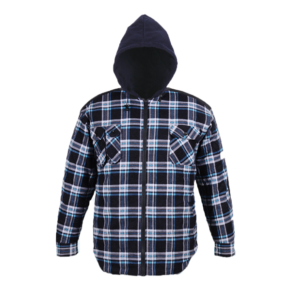 GL5199 Printed cotton flannel shirt for men
