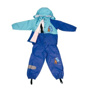 GL5619 PU children rainsuit
