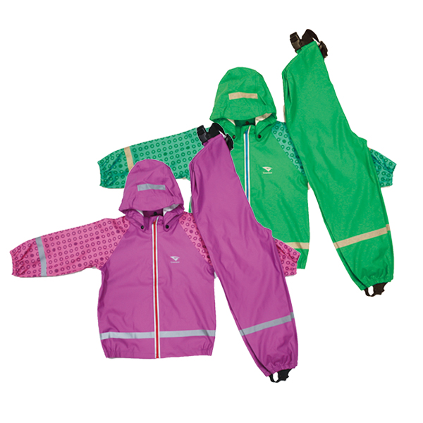 GL5632 PU children rainsuit