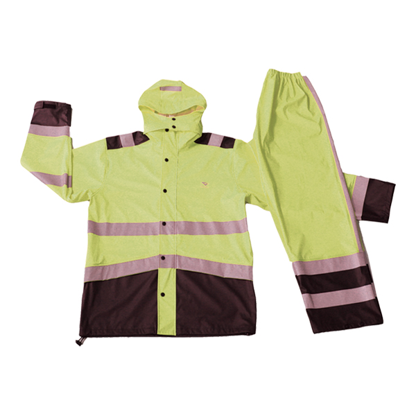 GL6802 PU rainsuit for men