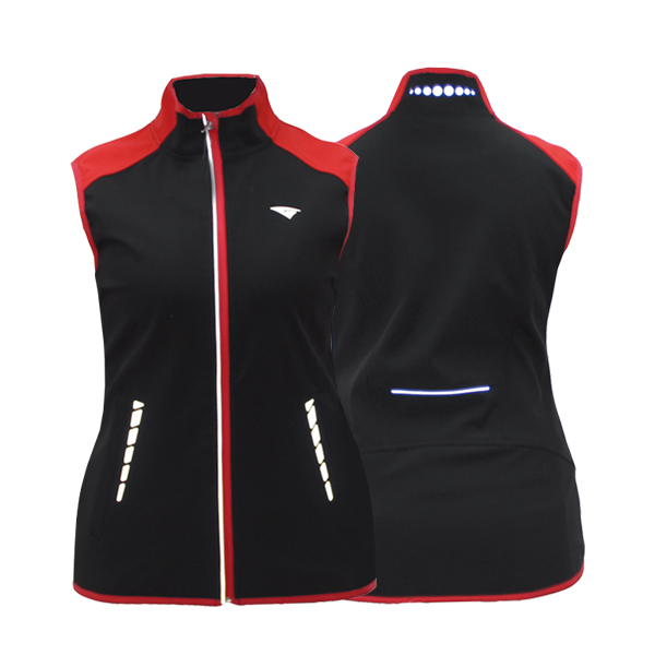 GL7241 softshell vest for lady