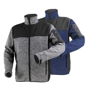 GL8231 sweater bonded jacket for men