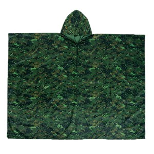 Cheap PriceList for Polyester Bag - GL8501 poncho – Greenland