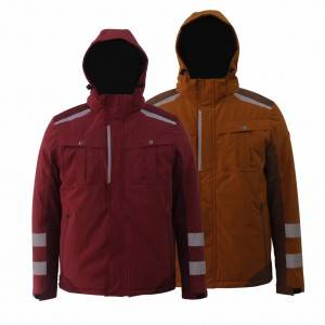 GL8833 Modern Workwear Best Winter Jacket for Men with Stretchy Fabric