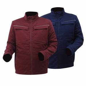 GL8836 Modern Workwear Best Winter Jacket for Men with Cotton Stretchy Fabric