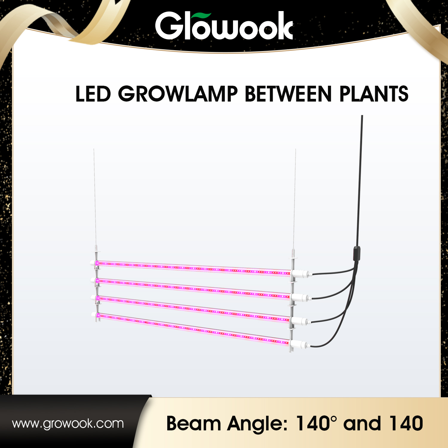 LED Growlamp between Plants Featured Image