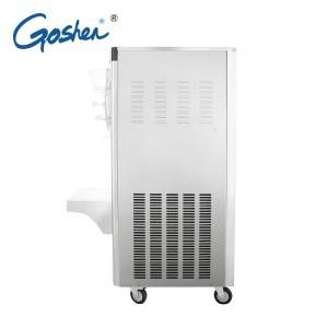 Factory made hot-sale Block Ice Makers - Big discounting Space Hot Sale Soft Ice Cream Machine / Frozen Yogurt Machine   Goshen Stainless steel body hard ice cream machine – Guangshen Electric detail pictures