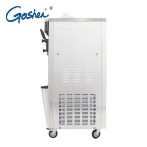 Excellent quality Refrigerator Ice Makers - Quality Inspection for Big Three Flavors Soft Ice Cream Machine Rainbow Flavors Ce Prove Spaghetti/frozen Yogurt Ice Cream Machine – Guangshen Electric detail pictures