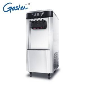 Professional Design Ice Machine Industrial - 2019 High quality 3 Flavor Soft Ice Cream Machine / Commercial Ice Cream Making Machine – Guangshen Electric
