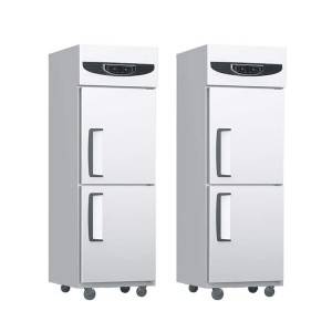 Stainless steel commercial kitchen workatable refrigerator freezer