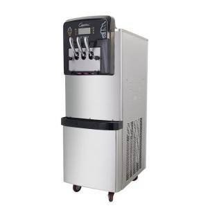 Competitive Price for Portable Home Mini Ice Machine Ice Maker - Big discounting Space Hot Sale Soft Ice Cream Machine / Frozen Yogurt Machine  BX188C-Goshen air pump rainbow system ice cream machine – Guangshen Electric detail pictures