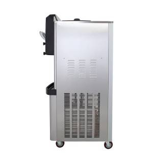 Bottom price Cube Industrial Ice Maker - BX188C-Goshen air pump rainbow system ice cream machine – Guangshen Electric detail pictures
