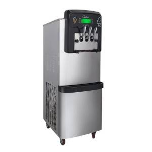 Good Quality  Hard Ice Cream Making Machine BX188C-Goshen air pump rainbow system ice cream machine