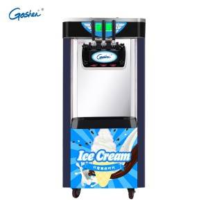 Chinese manufacturer CE Prove Soft Ice Cream Machine New Three Flavor Soft Ice Cream Machine