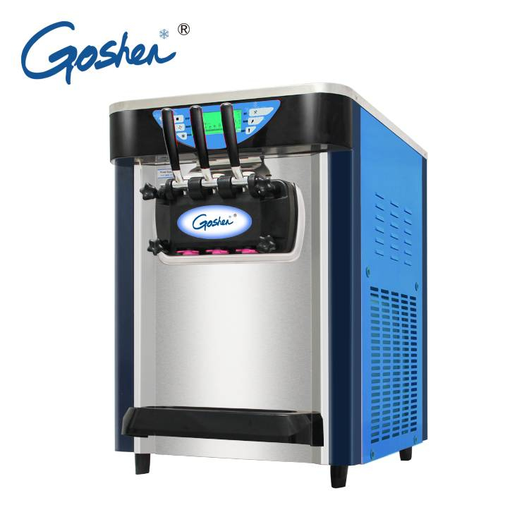 Chinese manufacturer  High Quality Easy Move Small Fruit Mix Ice Cream Machine