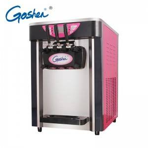 Personlized Products Commercial Freezer - Commercial table top yogurt frozen ice cream machine price for sale – Guangshen Electric