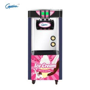 Low MOQ for Electric Ice Maker - CE Prove Soft Ice Cream Machine New Three Flavor Soft Ice Cream Machine – Guangshen Electric detail pictures