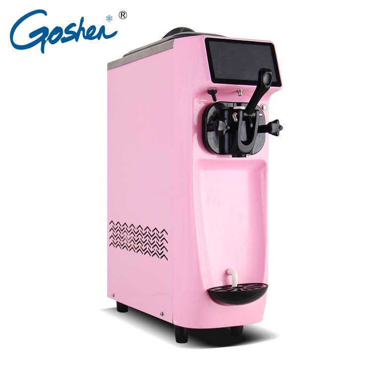 Manufacturing Companies for Automatic Small Liquid Ice Cream Filling Packing Machine  Single Flavors Table Top Style Ice Cream Machine