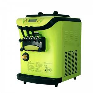 Mini ice cream maker machine soft ice cream machinery