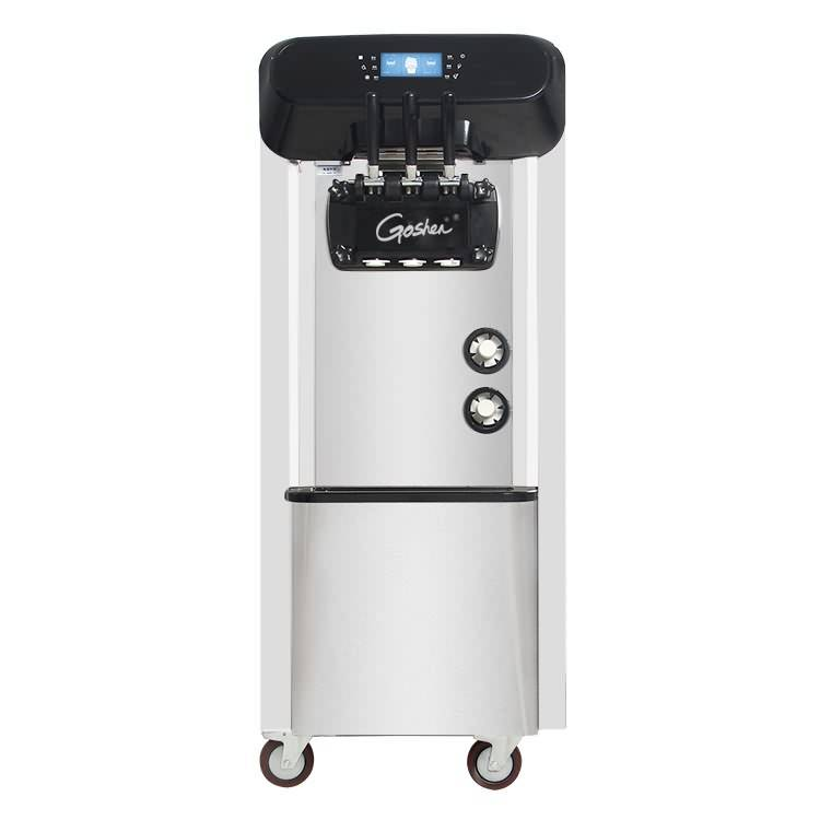 Big discounting Space Hot Sale Soft Ice Cream Machine / Frozen Yogurt Machine  Commercial used 3 in 1 ice cream machine prices