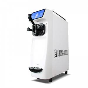 Mini table top soft ice cream machine