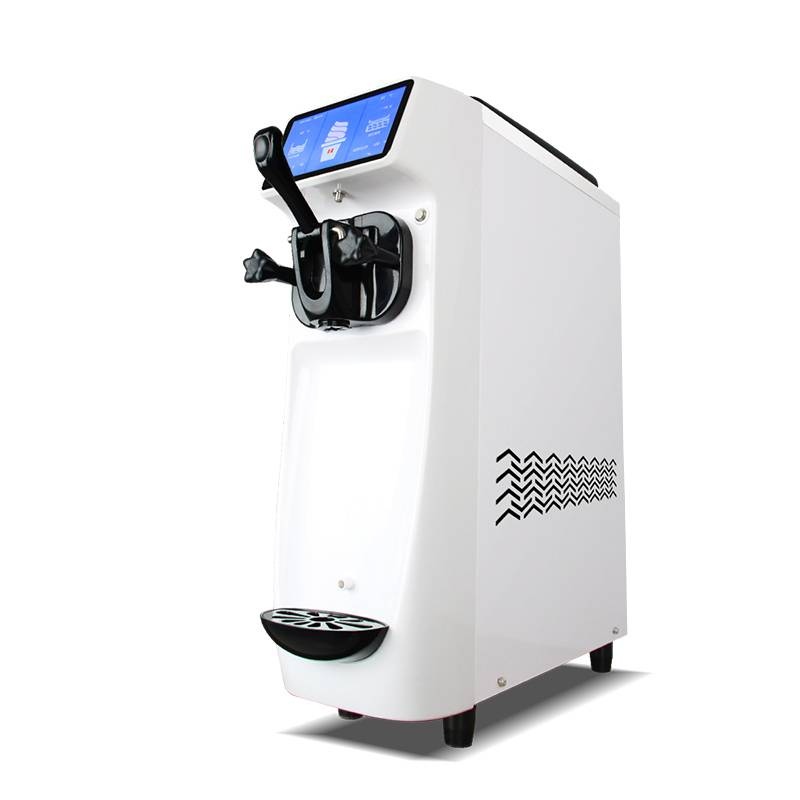 Big discounting Space Hot Sale Soft Ice Cream Machine / Frozen Yogurt Machine  Mini table top soft ice cream machine