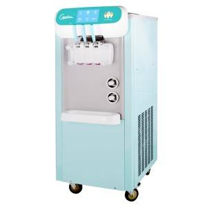 factory Outlets for 12v Dc Mini Fridge - 2+1 mixed flavors Rainbow soft ice cream machine frozen yogurt machine – Guangshen Electric detail pictures