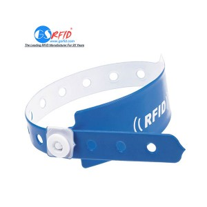 Custom Printed disposable paper RFID Wristband