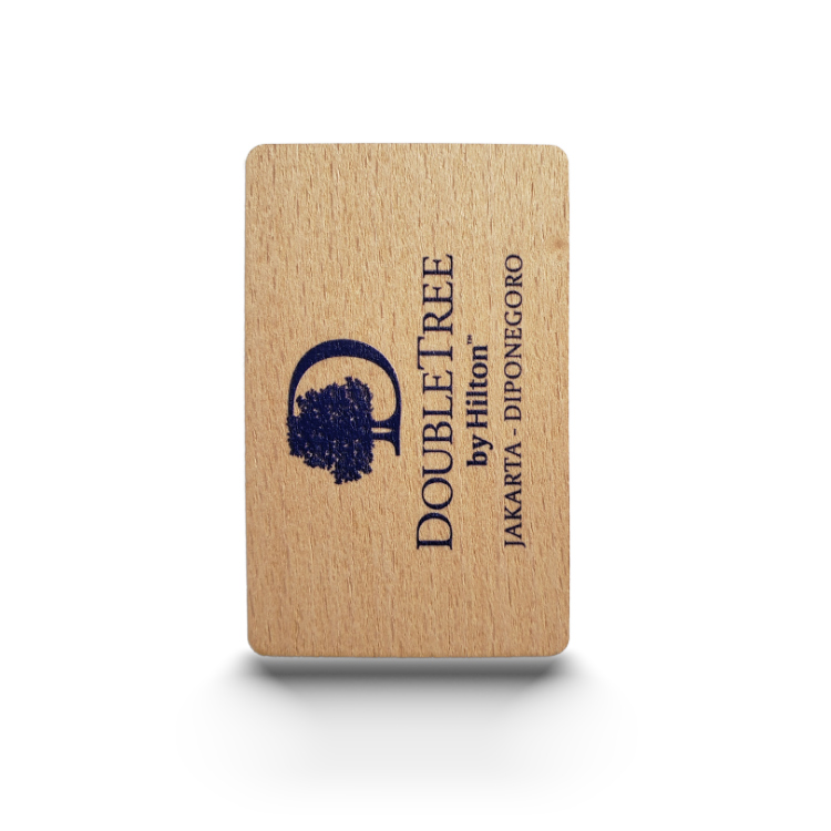RFID Wooden Key card RFID Bamboo key card
