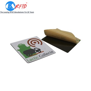 Anti-metal RFID NFC Sticker and tag with 3M adhesive