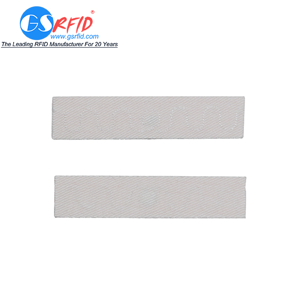 Long distance UHF RFID Flexible Textile Laundry Tag