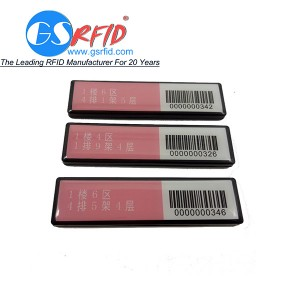 UHF passive RFID book tag library shelf tag