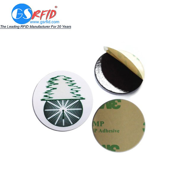 Customized Printed RFID Coin Tag With Ntag 213 Chip