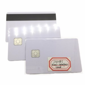 Dual Interface JCOP 2.4.1 J3A081 21- 80K Java CPU smart Card