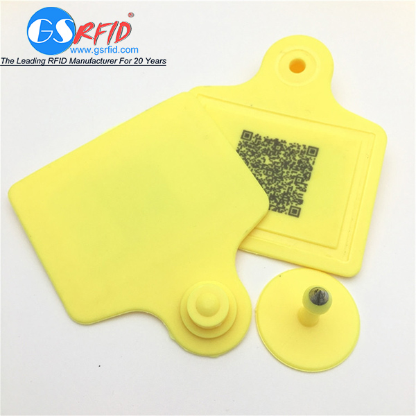 Plastic 125khz 860-960mhz RFID Ear Tag For Livestock And poultry Featured Image