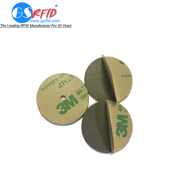 RFID Disc Tag And Asset Tag With Anti-metal Sticker