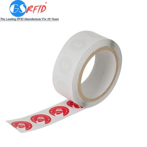 Blank White or Custom Printing PVC PET RFID/NFC Sticker