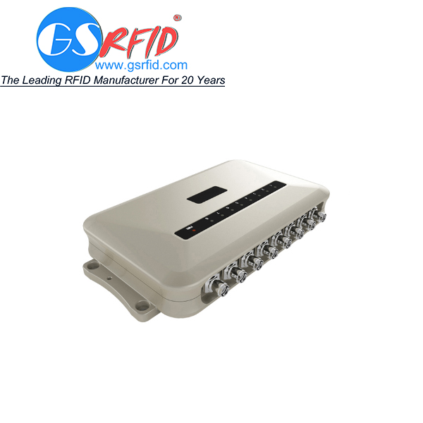 Eight Channel Long Range UHF RFID Fixed Reader