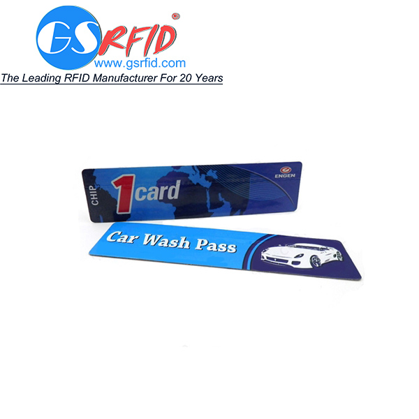 UHF RFID Windshield Tamper Proof Tag with customized size